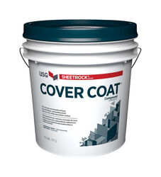 USG  Sheetrock  White  Water-Based  Cover Coat Compound  4.5 gal.
