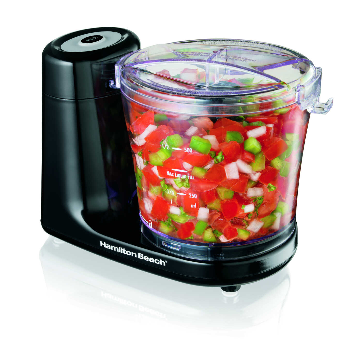 Hamilton Beach  Black  3 cups Food Chopper  80 watts