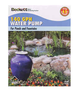 Beckett  140 gph Fountain Pump