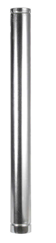 Selkirk  4 in. Dia. x 48 in. L Aluminum  Round Gas Vent Pipe