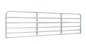 Behlen Country  96 in. L Galvanized  Steel  Utility Tube Gate  1 pk
