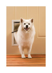 Petsafe 15.625 in. H x 10.75 in. W Aluminum Pet Door