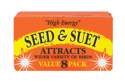 C&S Products  High Energy  Assorted Species  Wild Bird Food  Beef Suet  11 oz.