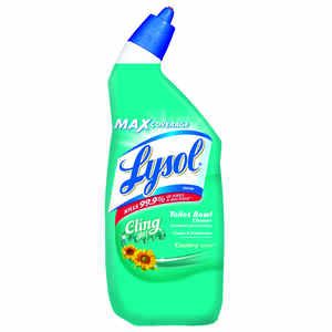 Lysol  Cling Gel  Country Scent Toilet Bowl Cleaner  24 oz. Gel