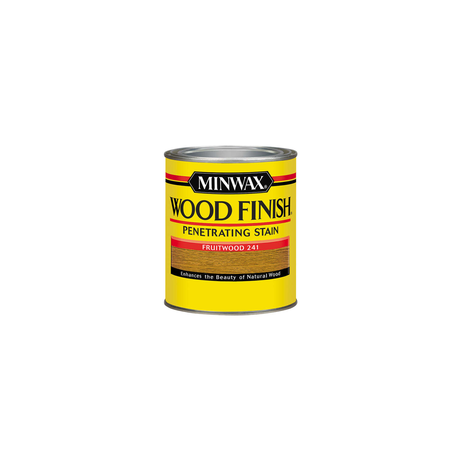 Minwax  Wood Finish  Semi-Transparent  Fruitwood  Oil-Based  Wood Stain  0.5 pt.