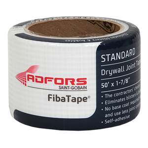 FibaTape  50 ft. L x 2 in. W White  Drywall Joint Tape  Fiberglass Mesh  Self Adhesive