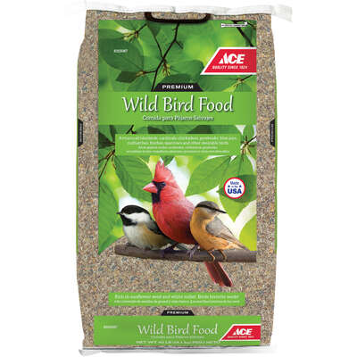 Ace  Premium Wild Bird  Songbird  Wild Bird Food  Grain Products  40 lb.