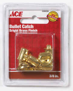 Ace  Bright  Zinc  Bullet Catch  4 pk