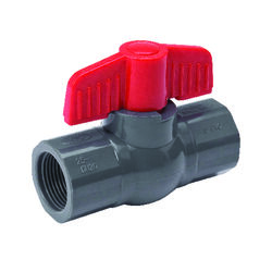 B&K ProLine 1 in. PVC FIP Ball Valve Full Port