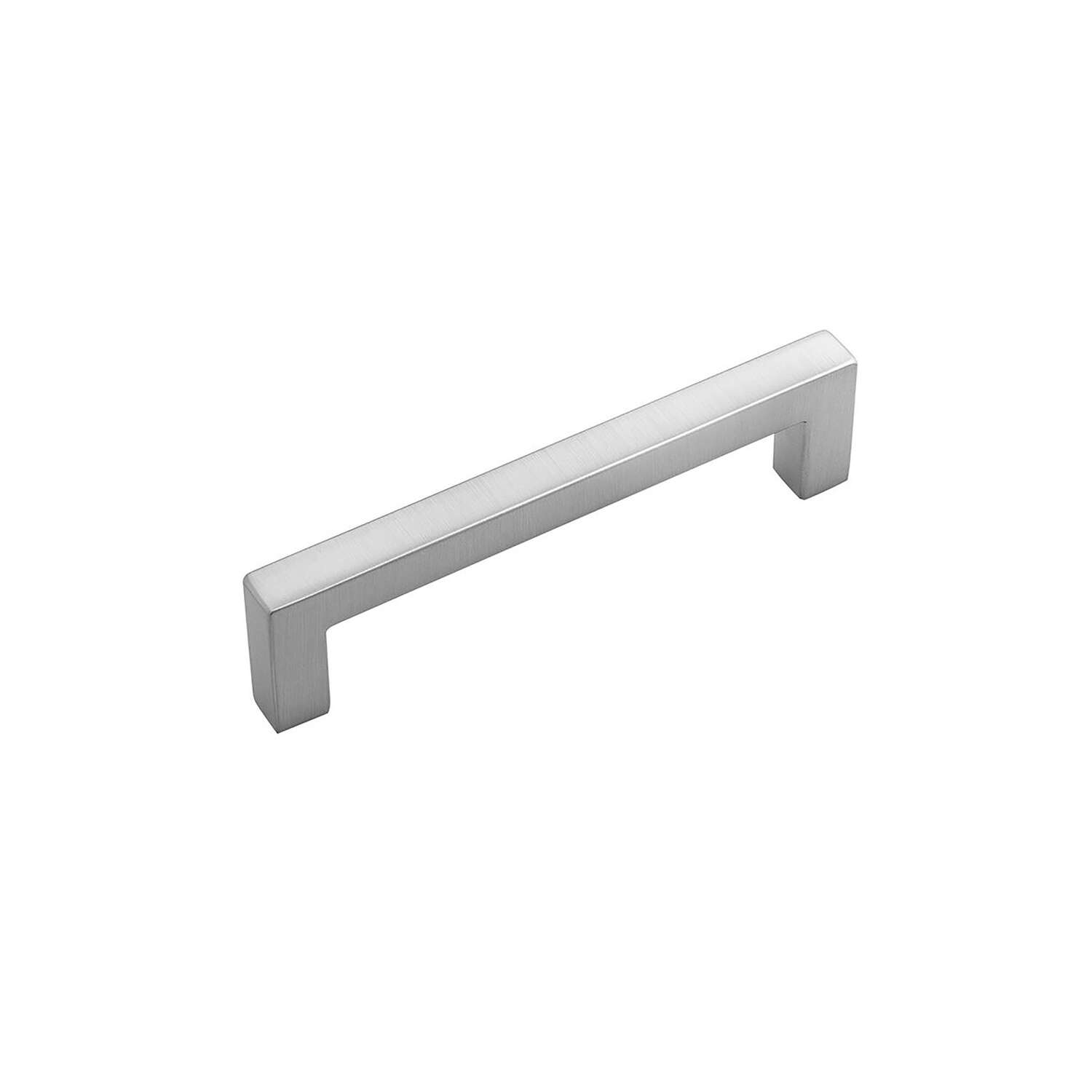 Hickory Hardware  Skylight  Contemporary  Bar  Cabinet Pull  3-3/4 in. Stainless Steel  Silver  1 pk