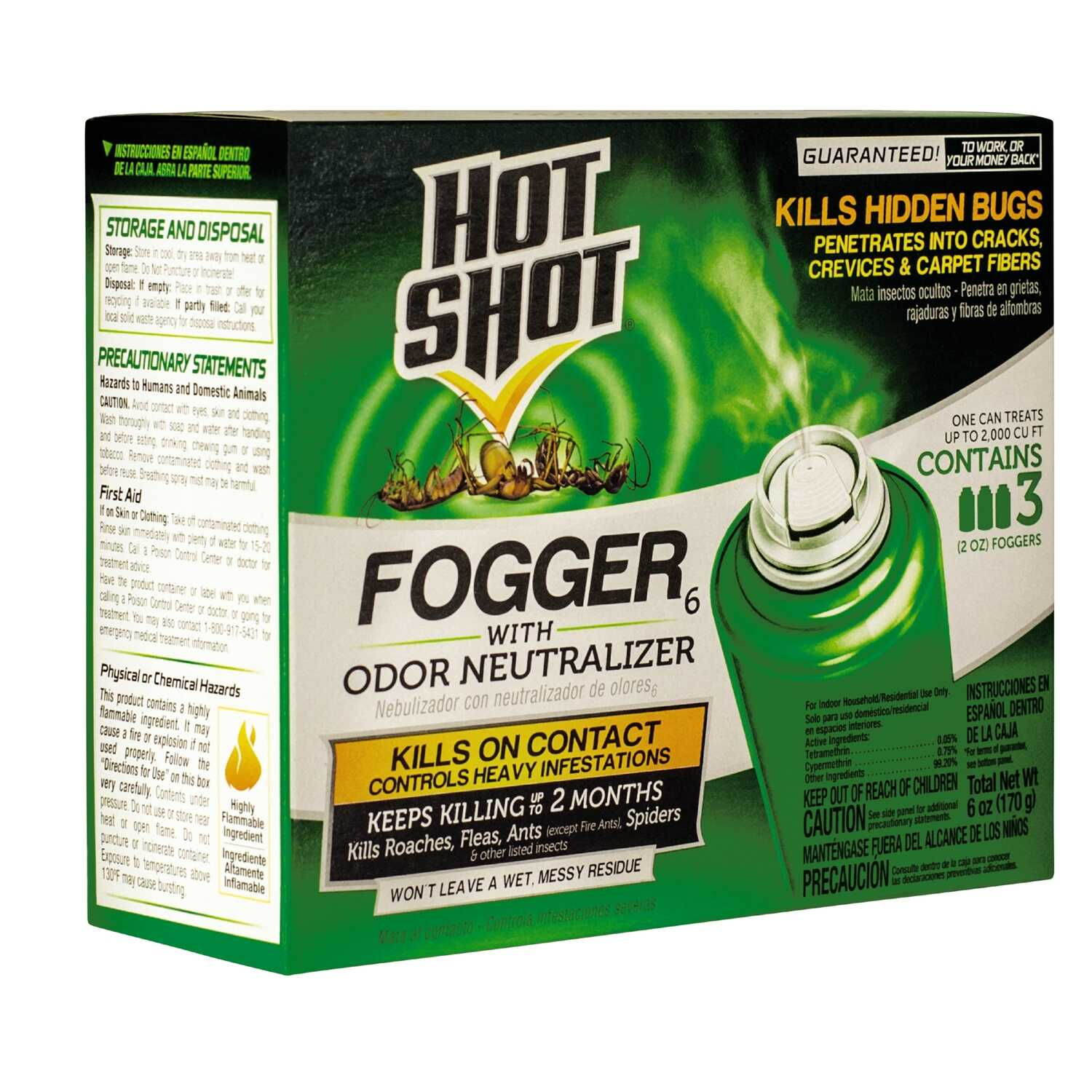 Hot Shot  Insect Killer  2 oz.