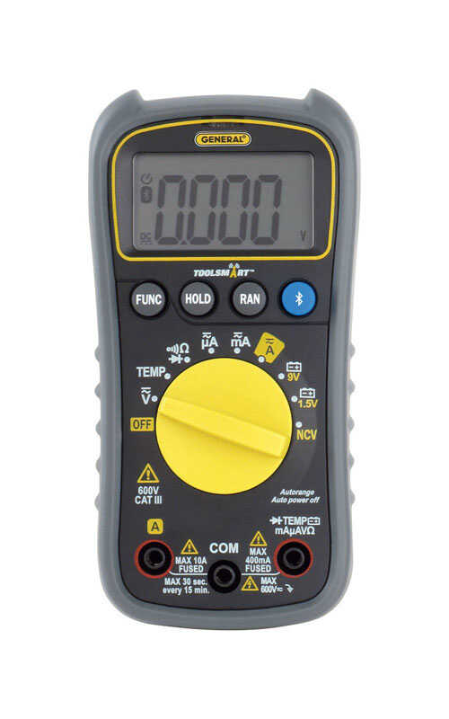 GENERAL  ToolSmart  33  LCD  Digital Multimeter  1 pk