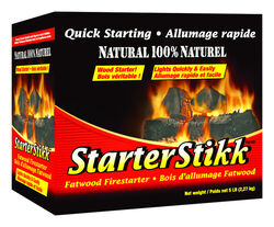 Pine Mountain Starter Stikk Wood Fire Starter 5 lb.