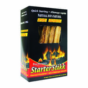 Pine Mountain  Starter Stikk  Wood  Fire Starter  1.5