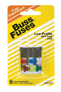 Bussmann  30 amps ATM  Fuse Assortment  6 pk