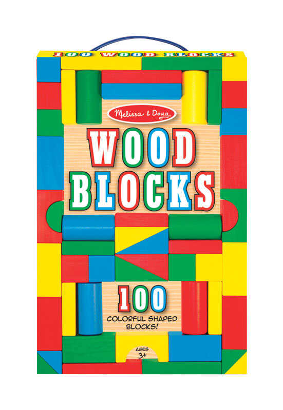 Melissa & Doug  Blocks  Wood