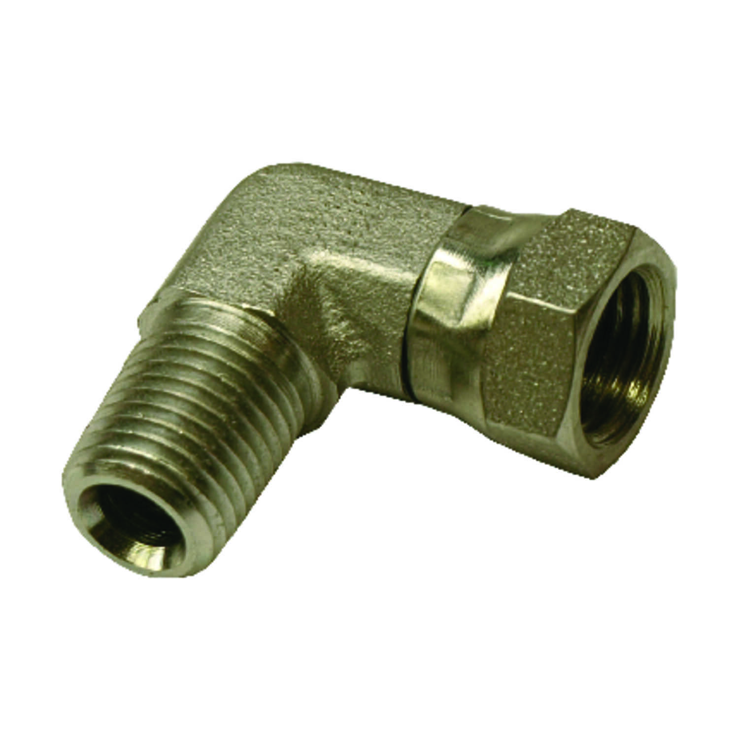 Universal  Brass  Hydraulic Adapter  3/8 in. Dia. x 3/8 in. Dia. 1