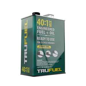 TruFuel  40:1  2 Cycle Engine  Premium Synthetic  Premixed Gas and Oil  110 oz.