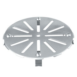 Sioux Chief  Gripper  7-1/4 in. Chrome  Stainless Steel  Round  Floor Drain Cover