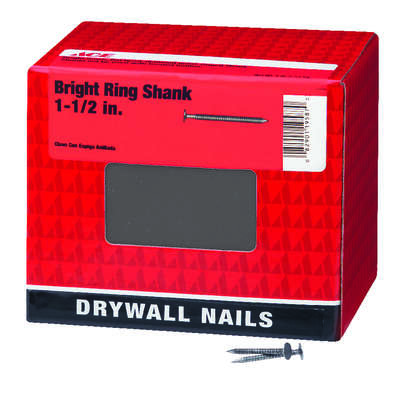 Ace  1-1/2 in. Drywall  Bright  Nail  Flat  5 lb.