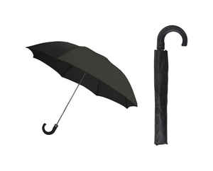 Rainbrella  Black  42 in. Dia. Umbrella