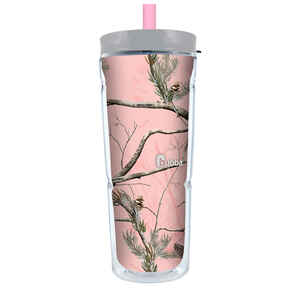 Bubba Brands  Pink  Plastic  Camoflauge  Water Bottle  24 oz.