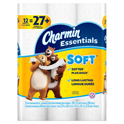 Charmin  Essentials  Toilet Paper  12 roll 200 sheet 261