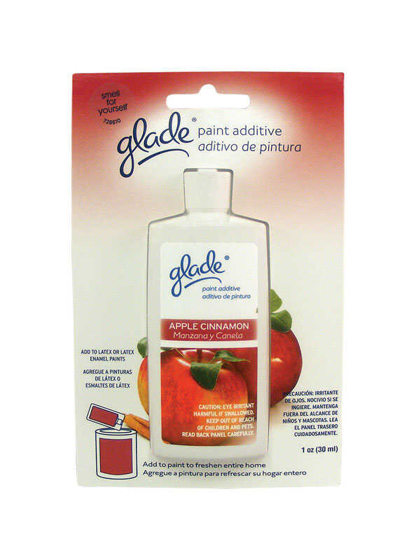 Glade  Apple Cinnamon  Scented Paint Additive  1 oz.