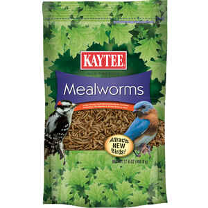 Kaytee  Assorted Species  Wild Bird Food  Dried Mealworm  17.6 oz.