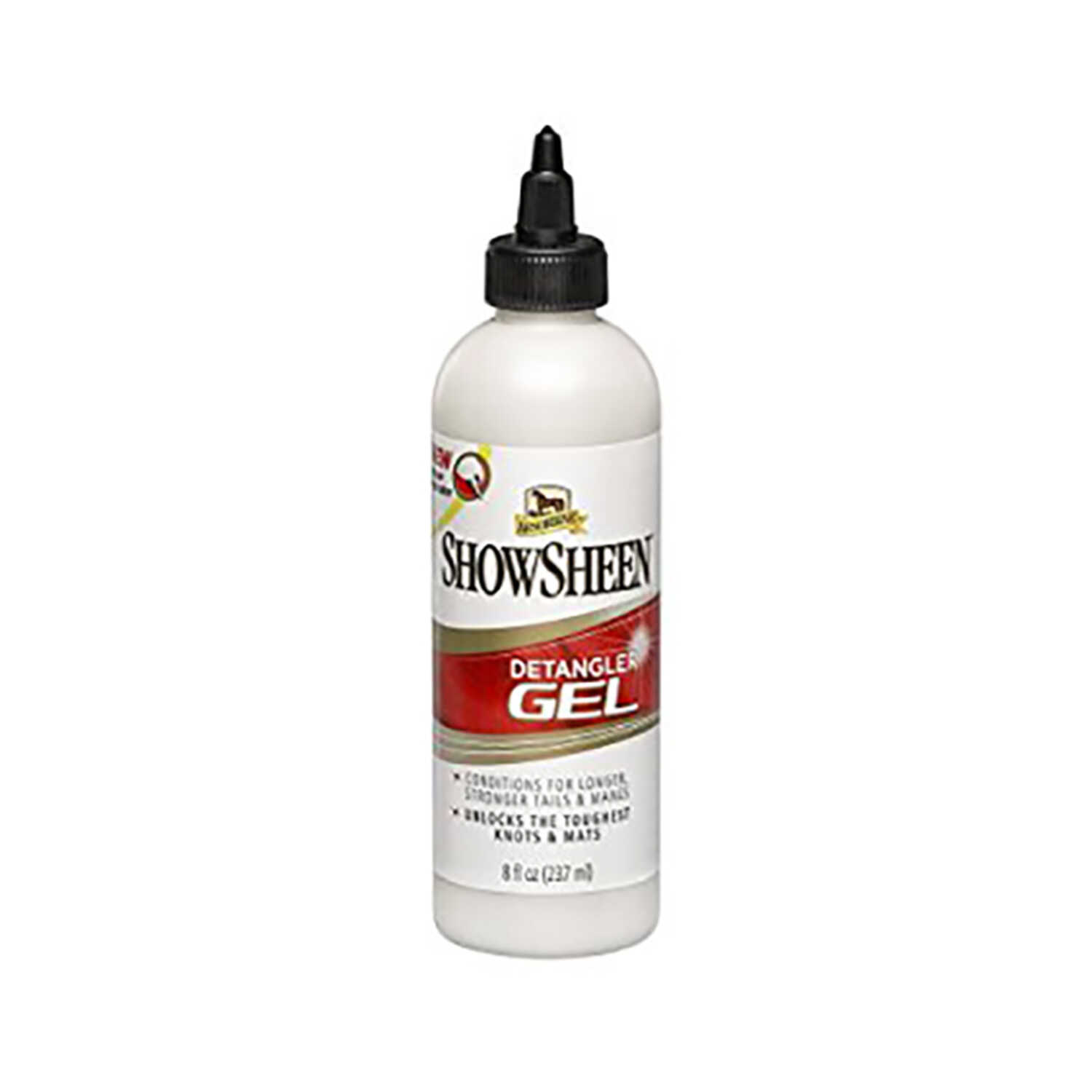 SHOWSHEEN  Detangler Gel  For Horse 4 oz.