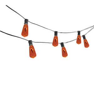 Sylvania  Vintage Flicker Flame Lights  Lighted Halloween Decoration  6 in. H x 12 ft. L 1 pk