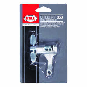 Bell Sports  Quicklink 350  Chrome Plated Steel  Chain Repair Kit  Silver