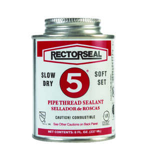 Rectorseal  Yellow  Pipe Thread Sealant  8 oz.