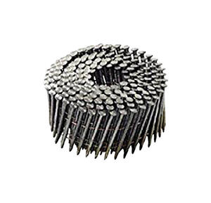 National Nail  Pro-Fit  2-3/8 in. .113 Ga. Wire Coil  Framing Nails  15 deg. Ring Shank  3000 pk