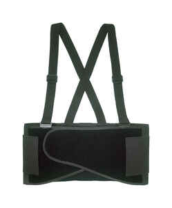 CLC  38 in. to 47 in. Elastic  Back Support Belt  Black  L  1 pc.