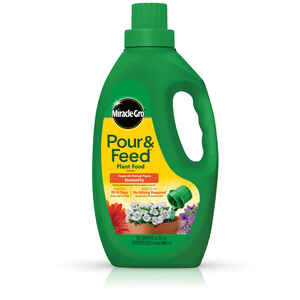 Miracle-Gro  Pour & Feed  Liquid  Plant Food  32 oz.