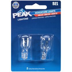Peak  Incandescent  Indicator  Miniature Automotive Bulb  921