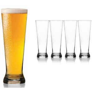 Mikasa  22 oz. Clear  Crystal  Beer Glass