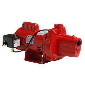 Red Lion  1 hp 23.2 GPM  Cast Iron  Shallow Well Jet Pump