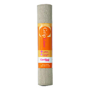 Con-Tact  Beaded Grip  5 ft. L x 12 in. W Taupe  Non-Adhesive  Liner