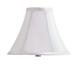 Living Accents  Bell  Beige  Fabric  Lamp Shade  1