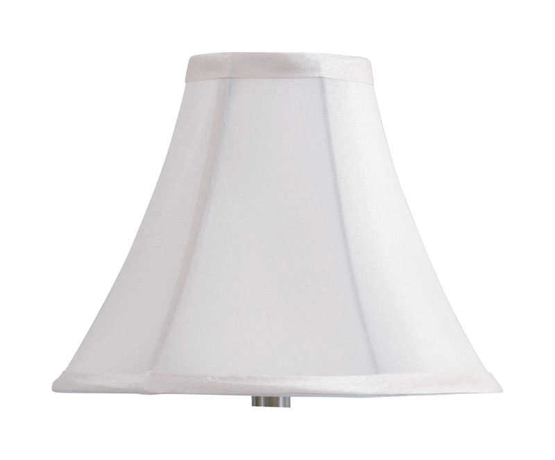 Living Accents  Bell  Beige  Fabric  Lamp Shade  1 pk