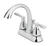 OakBrook  Pacifica  Verona  Chrome  Two Handle  Lavatory Pop-Up Faucet  4 in.