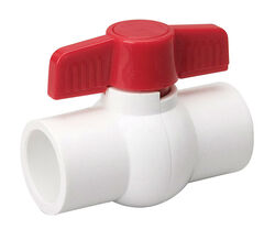 B&K  ProLine  1/2 in. PVC  Slip  Ball Valve  Full Port