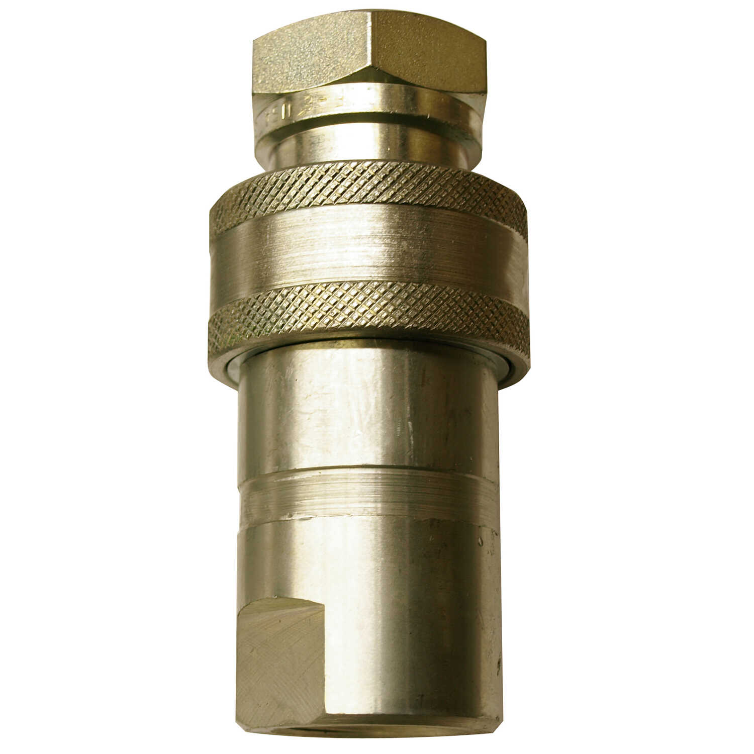 Apache  Steel  Hydraulic Coupler  3/4 in. Dia. x 3/4 in. Dia. 1