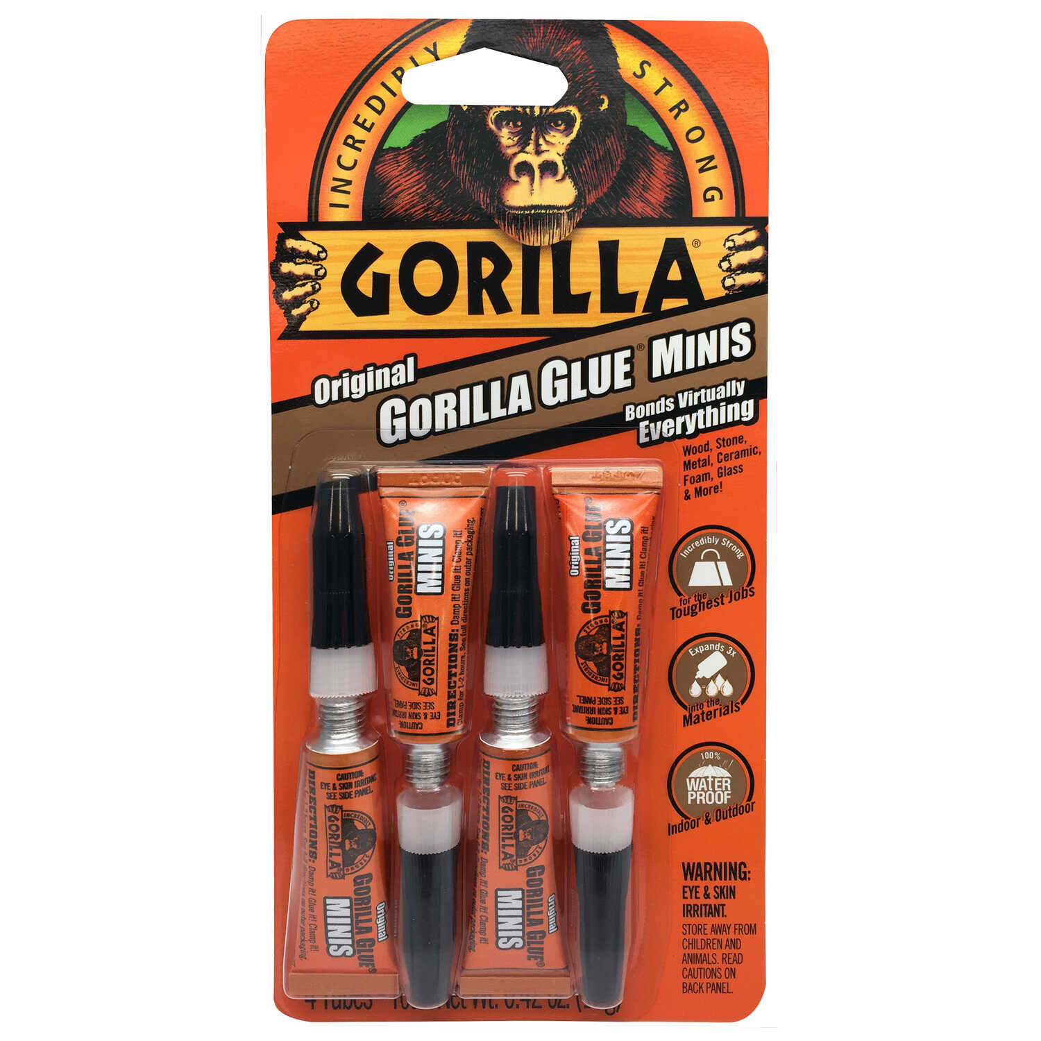 Gorilla  High Strength  Liquid  5 pk Original Gorilla Glue  .42 oz.