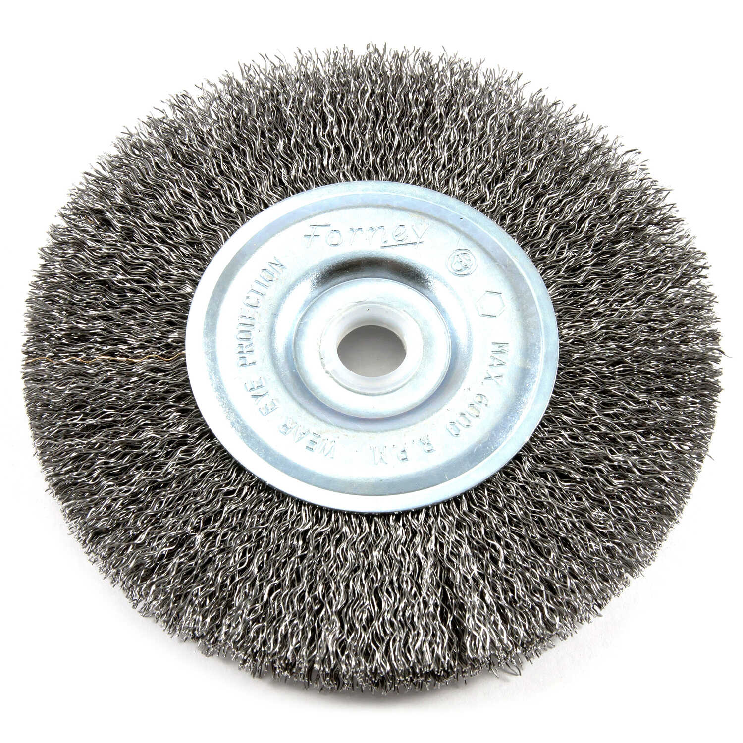 Forney  5 in. Crimped  Wire Wheel Brush  Metal  6000 rpm 1 pc.
