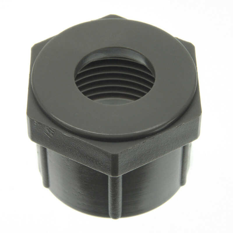 Danco  Ballcock Coupling Nut  3/8  H Plastic