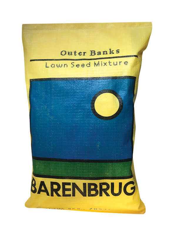 Barenbrug  Outer Banks  Lawn Seed Mixture  25 lb.