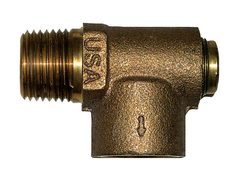 Campbell  Brass  Screw-In  Relief Valve